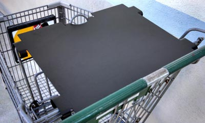 Compucart Trays / Shopping Cart Tables are about protecting your device efficiently